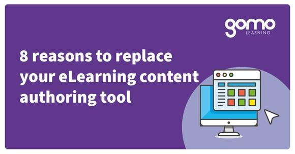8 reasons to replace your eLearning content authoring tool Read more