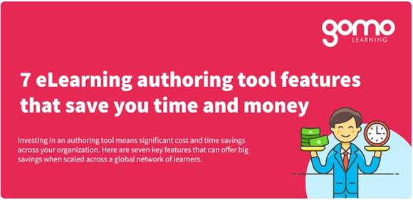 7 eLearning authoring tool features that save you time and money Read more
