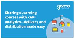 Sharing eLearning courses with xAPI analytics—delivery and distribution made easy Read more