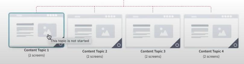 Gomo UI screenshot showing mouseover effect