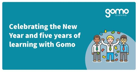 Celebrating the New Year and five years of learning with Gomo Read more