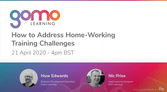 Webinar: How to Address Home-Working Training Challenges Read more