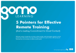5 pointers for effective remote training Read more