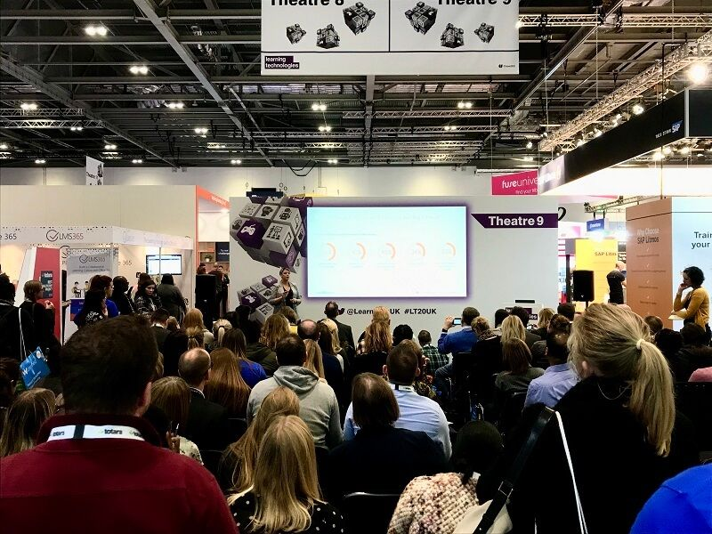 LinkedIn Learning talk at Learning Technologies Conference 2020