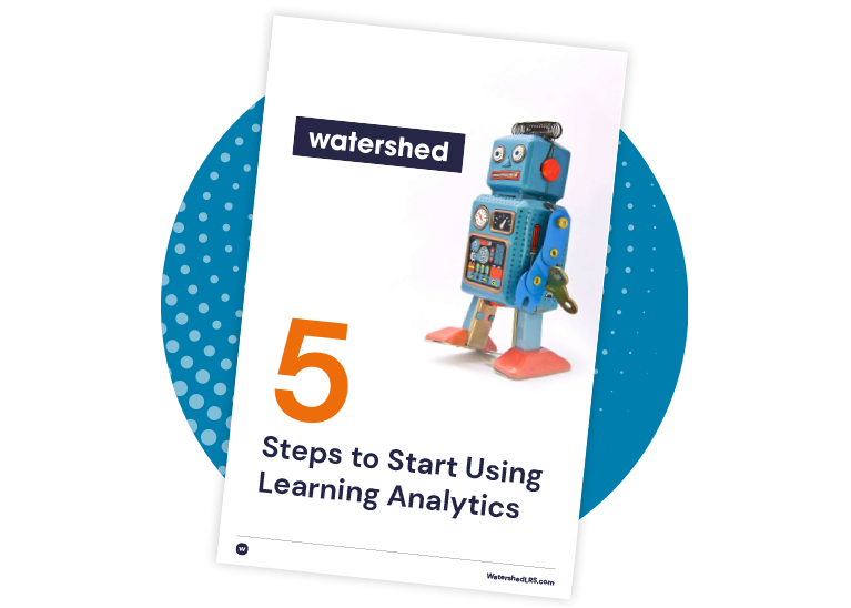 Five Steps to Get Started with Learning Analytics
