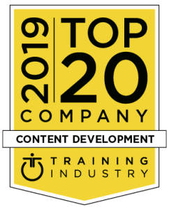 Top 20 2019 Training Industry Award