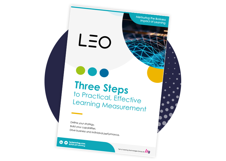 Three Steps to Practical, Effective Learning Measurement
