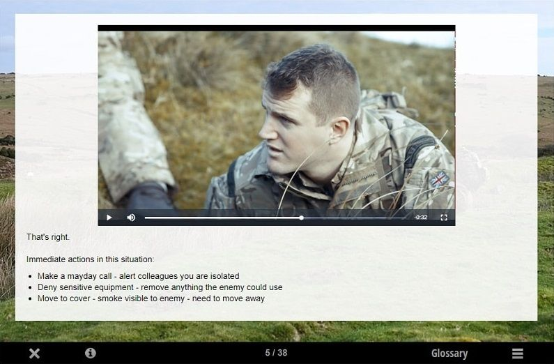 British Armed Forces Innovative Digital Learning