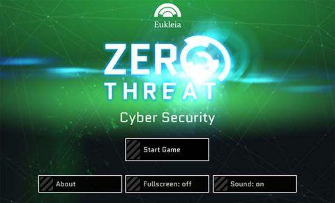 Zero threat cyber security screen