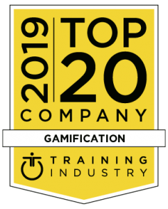 Top 20 2019 Gamification Training Industry award