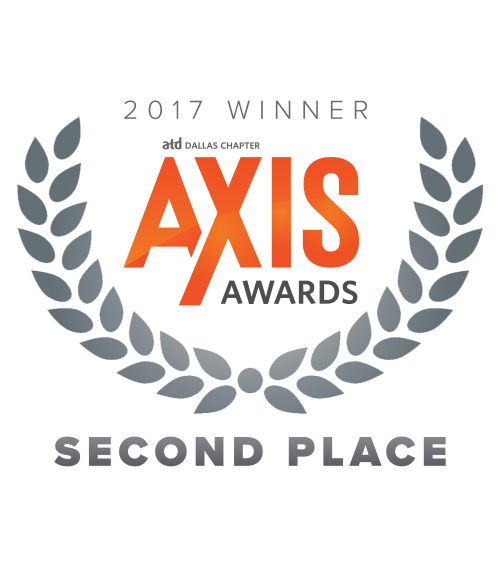 AXIS awards 2017 winner logo