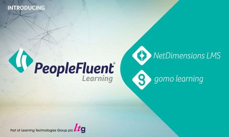 PeopleFluent learning portal screen
