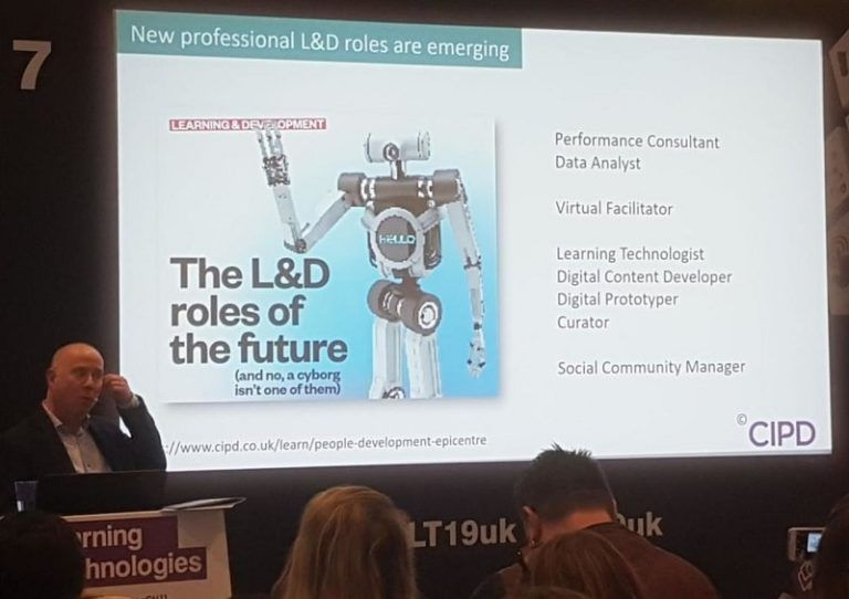 Andy Lancaster at Learning Technologies 2019