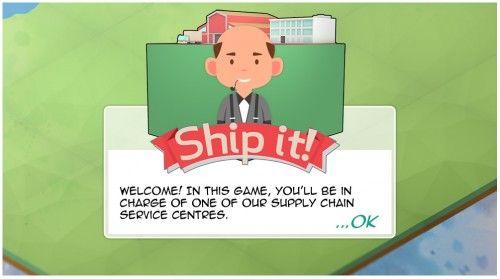 Ship it game screen