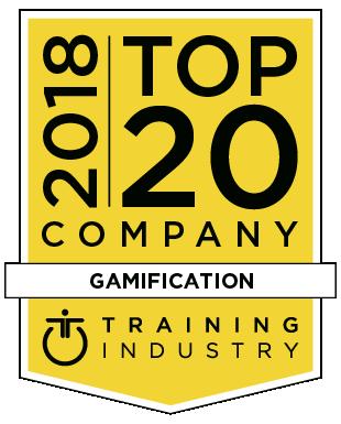 Top 20 2018 gamification award logo