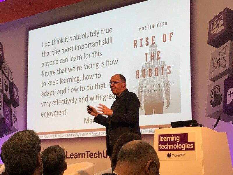 Chris Pirie, Learning Technologies 2020 Conference talk