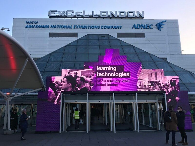 Learning Technologies 2020 conference, ExCel London