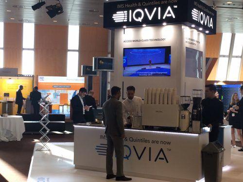 IQVIA stand