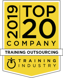 Top 20 2019 Training Outsourcing award