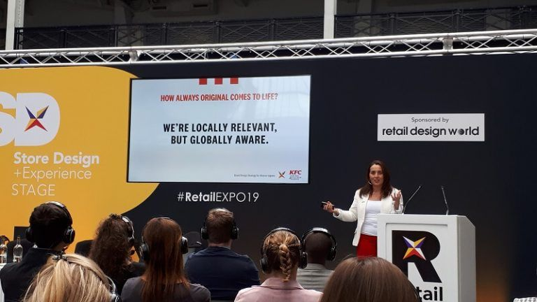 A session from KFC and Yum! Brands on localization in the retail sector at RetailEXPO 2019