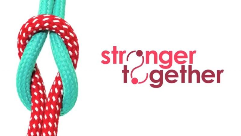 The Stronger Together logo
