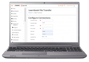 Learnbook File Transfer ConfigureConnections