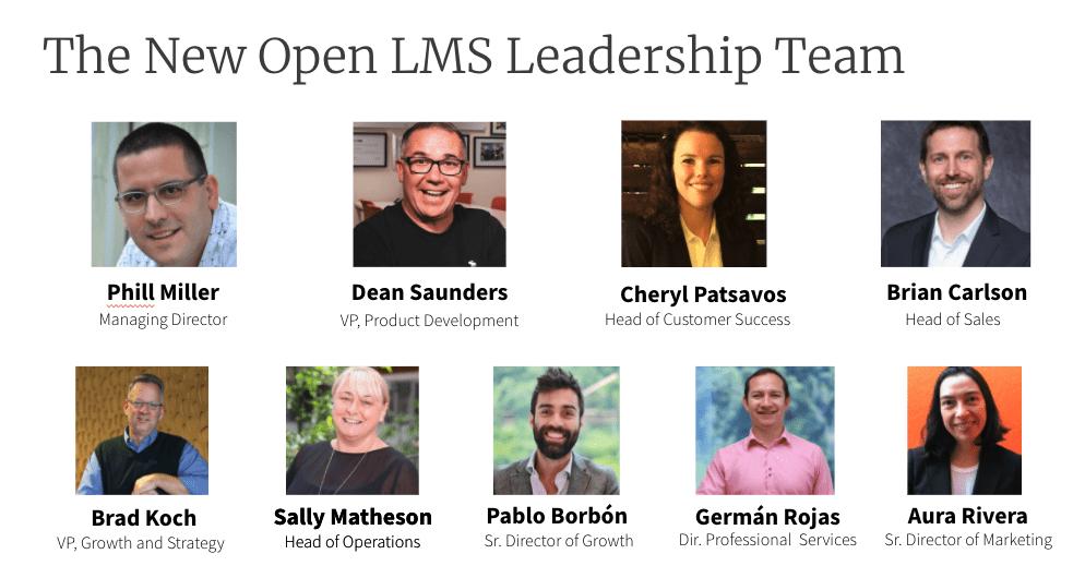 leadership team open lms