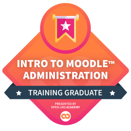 introduction to moodle administration course
