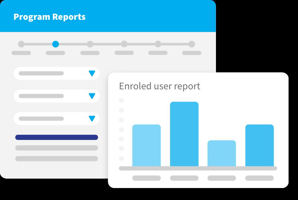 provide dynamic reports ui