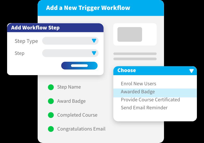 trigger workflow ui