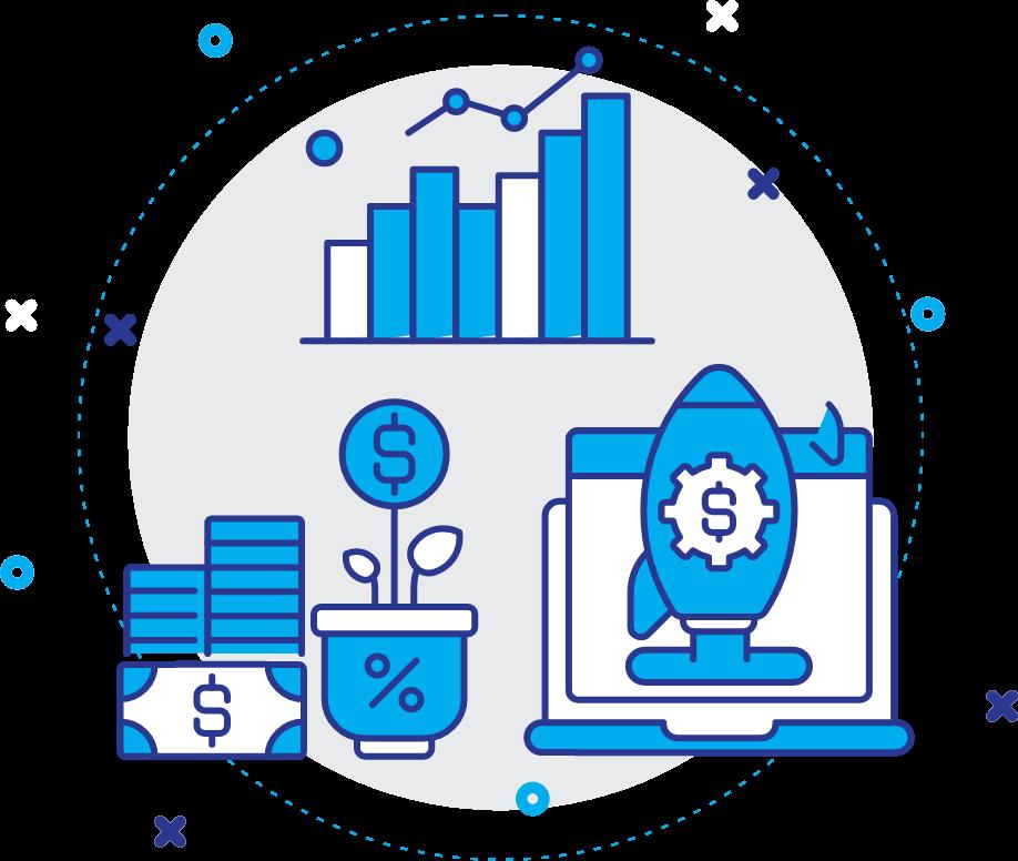revenue generating illustration