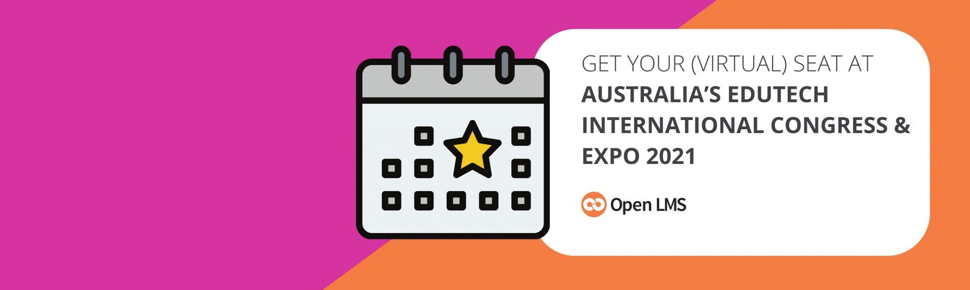 Get Your (Virtual) Seat at Australia's EduTECH International Congress & Expo 2021