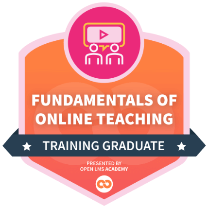 fundamentals of online teaching course