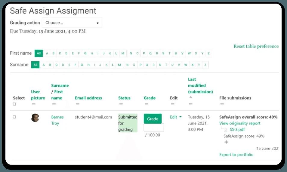 safe assign assignment