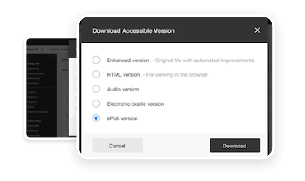 download accessible version
