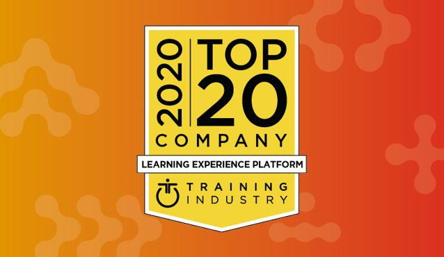 Top-20 Learning Experience Platform Badge