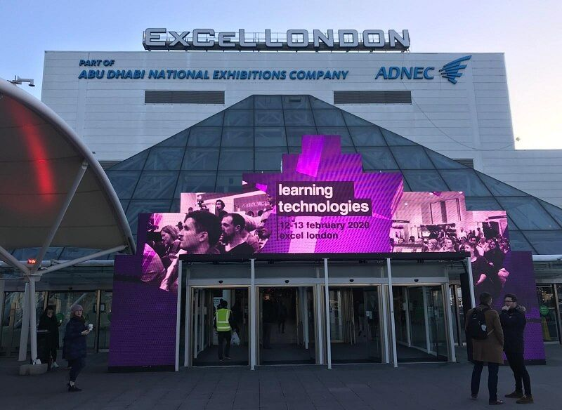 Learning Technologies 2020 took place at the ExCeL in London