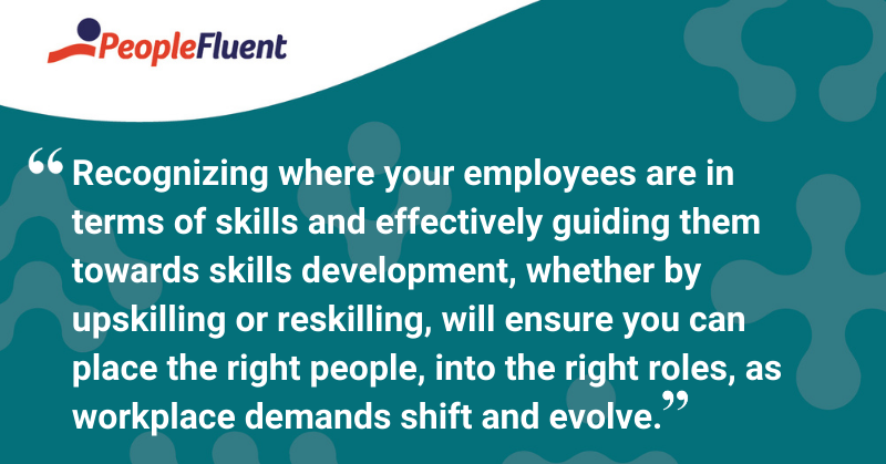 """This is a quote: """"If we allow individuals to explore options beyond their current role and provide the tools to help them get there, employees are far more likely to stay within an organization and learn the necessary skills to better perform in their current role or fulfill a new role altogether."""""""
