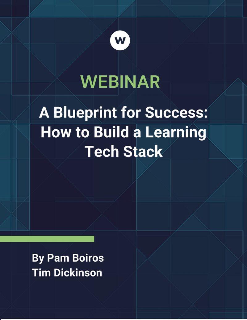 Build a Learning Tech Stack Webinar
