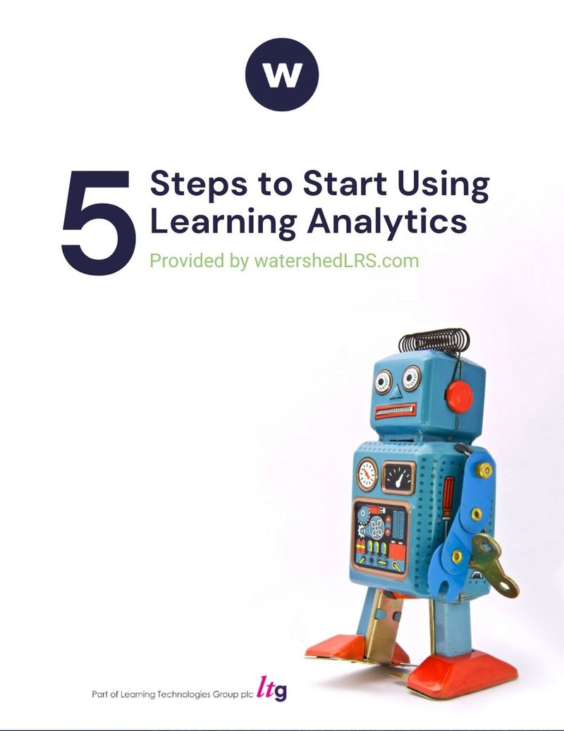 Five Steps to Start Using Learning Analytics eBook