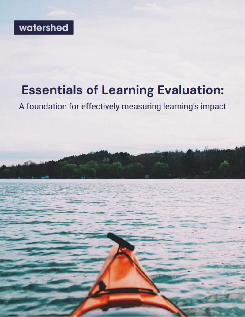 Essentials of Learning Evaluation eBook
