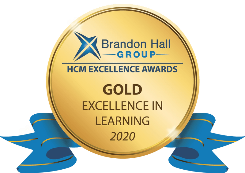Brandon Hall Group Excellence in Learning 2020