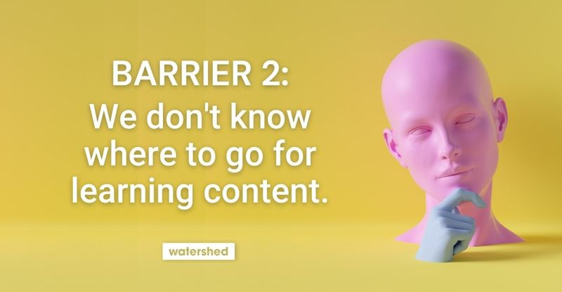 Can your learners find training content?