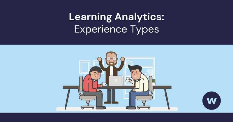 Learning Analytics Experience Types
