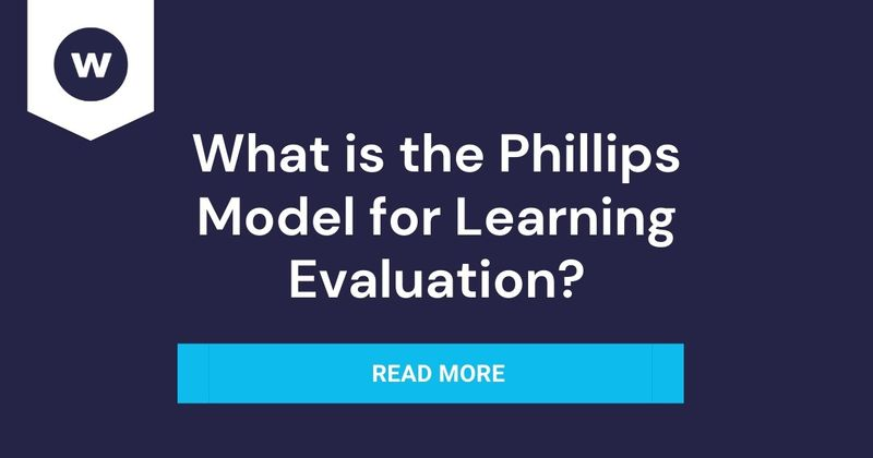 What is Phillips Learning Evaluation Model?