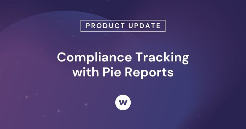 See how to use Watershed's pie charts to track employee compliance and certifications.