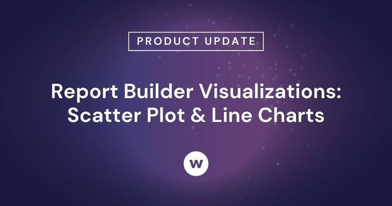 Check out Watershed's scatter plot and line chart visualizations, an impersonation option to fine tune what users see, and more