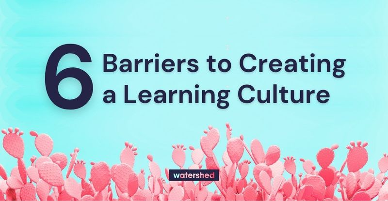6 Barriers to Establishing a Learning Culture
