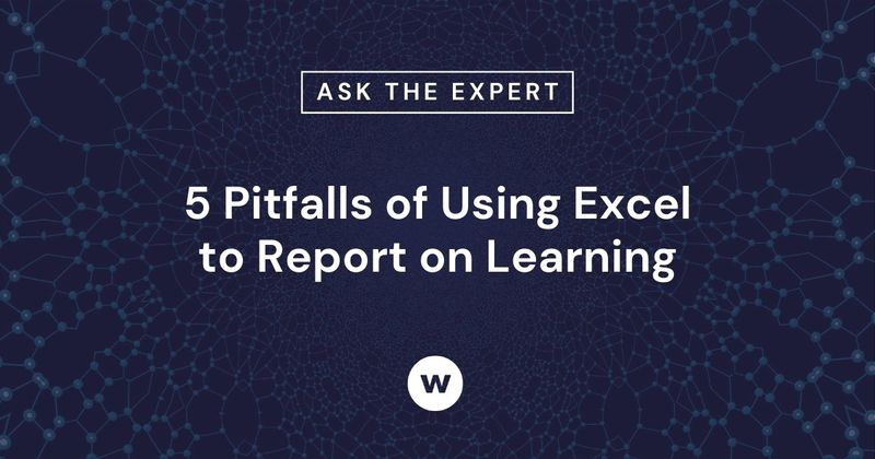5 Pitfalls of Using Excel and spreadsheets to Report on Learning