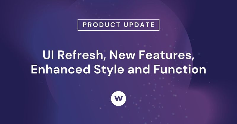 See Watershed's feature release and updated UI—including resizable reports, and relocated features.